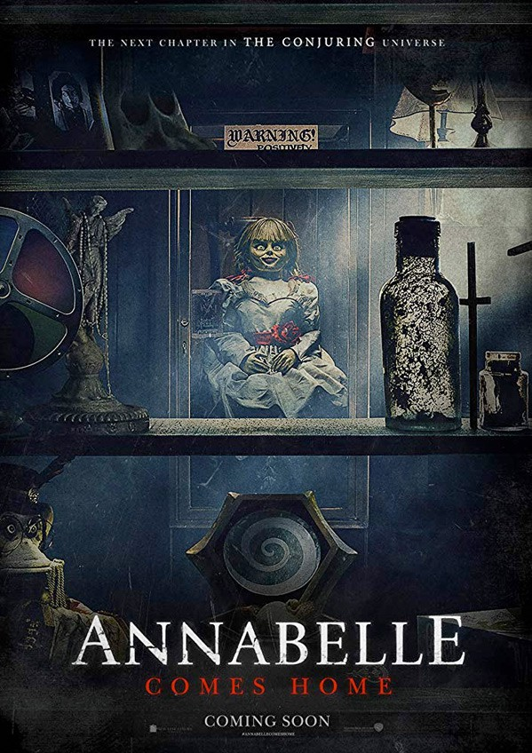 see what the new trailer for  u0026quot annabelle comes home u0026quot  conjures