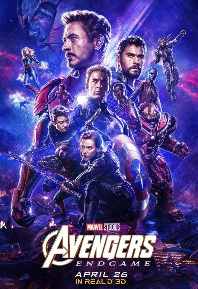 2 More Avengers Endgame Posters