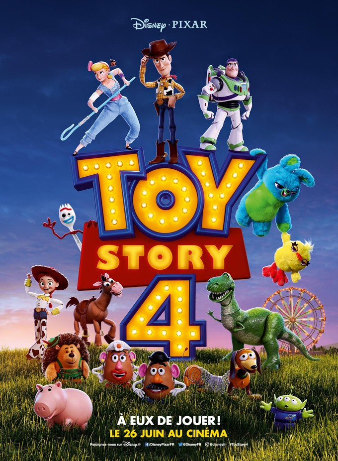"New ""TOY STORY 4"" Trailer Watch it NOW!"