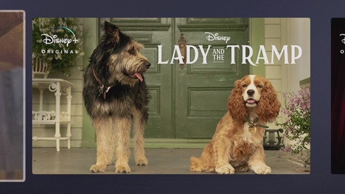 New Image For Live Action Lady And The Tramp