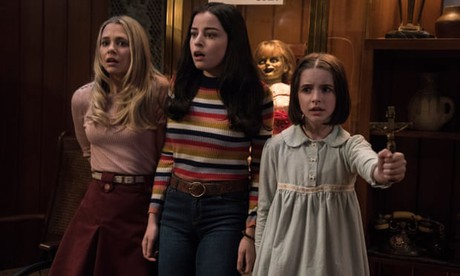 The Young Cast of ANNABELLE COMES HOME