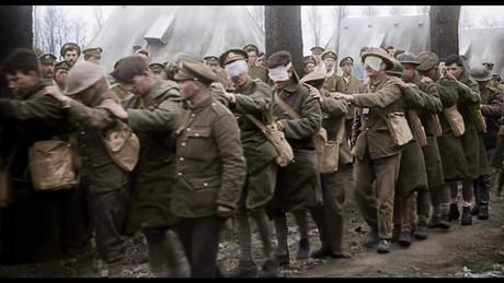 Blind soldiers