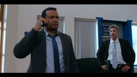 Mario Van Peebles and Marshal Hilton