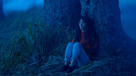 Sheila Vand as the Final Girl