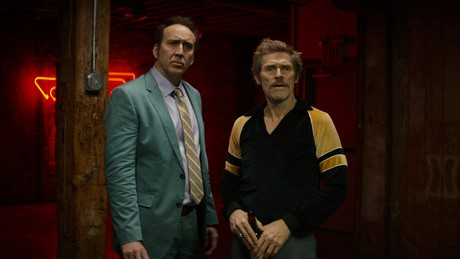 Cage and DaFoe