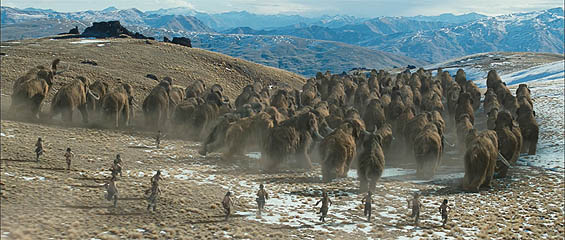 Mammoth Herds!! Prehistoric Attack Ostriches!! Roland