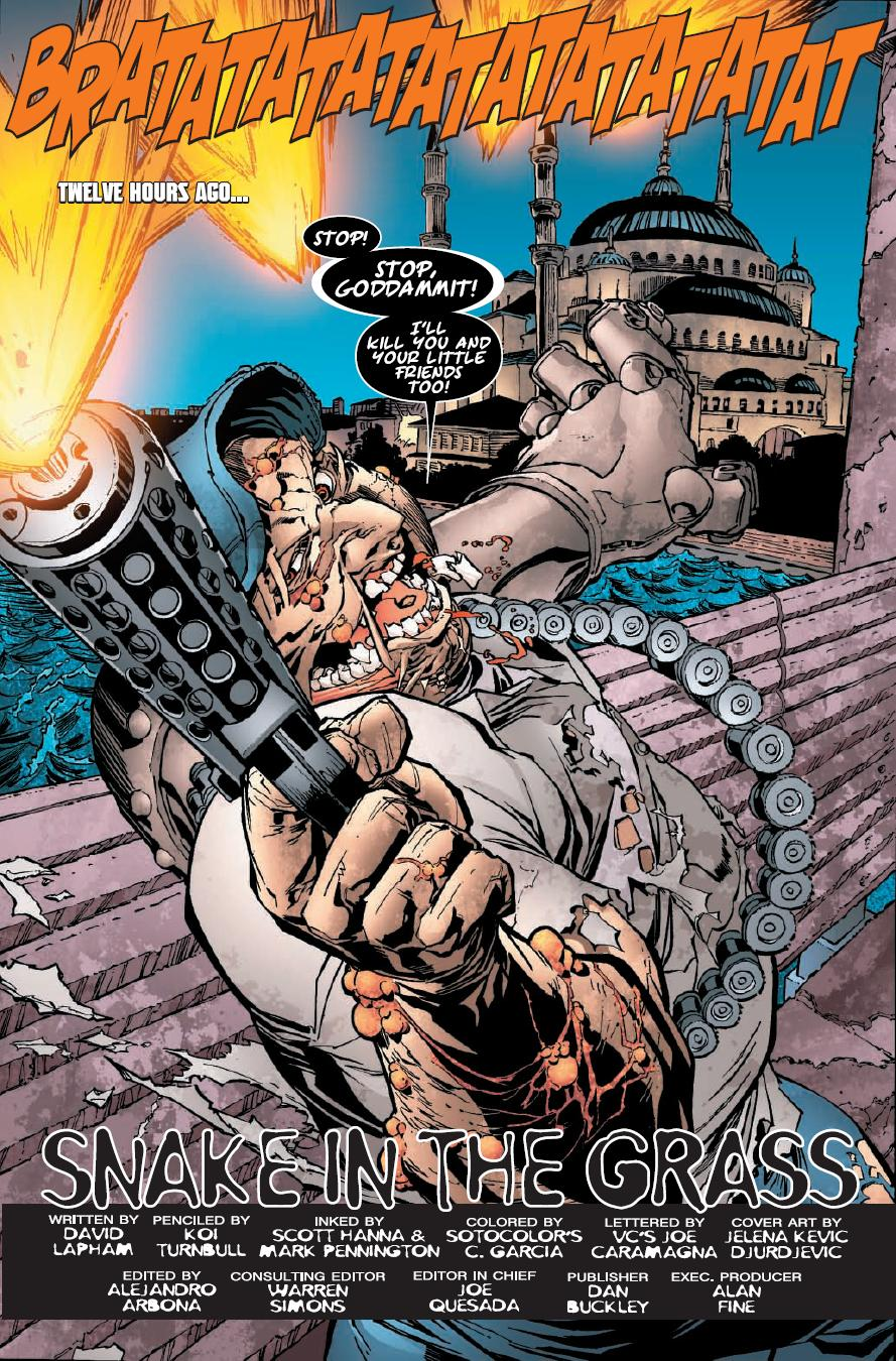 TERROR INC Has Always Been A Cool Concept To Me And The Same Seems Go For David Lapham Previous Miniseries Kicked Major This One