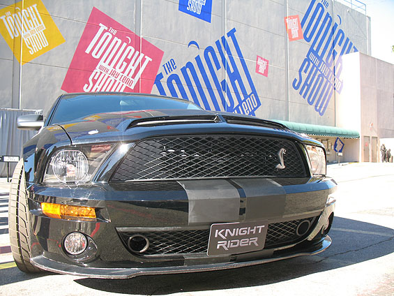 UPDATED!! THE HOFF IS IN!! KNIGHT RIDER Press Event Pics!! +