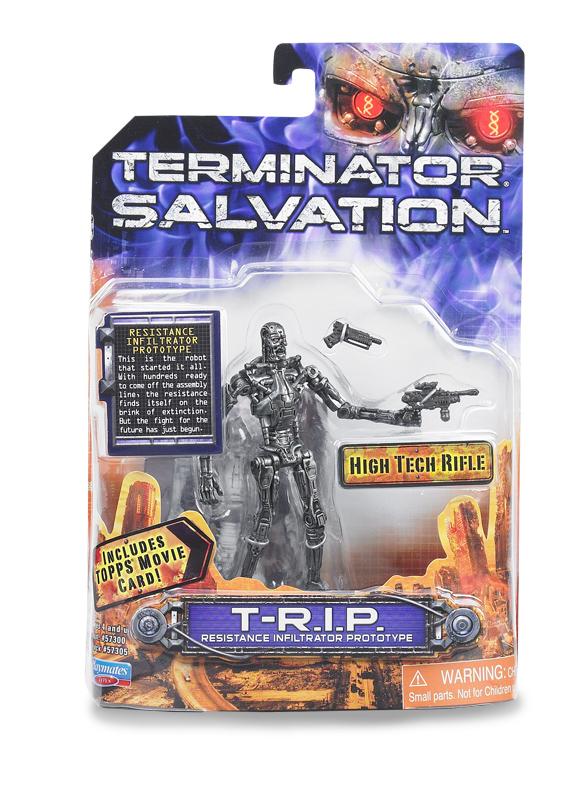 "TERMINATOR SALVATION Playmates toy BATTLE DAMAGE MARCUS 2009 Figure 3.75/"" doll"