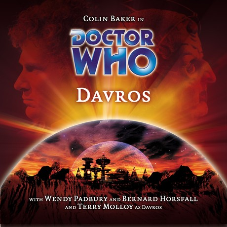 DOCTOR WHO - Davros - Big Finnish Cover