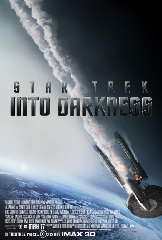 Star Trek Into Darkness Crash Poster