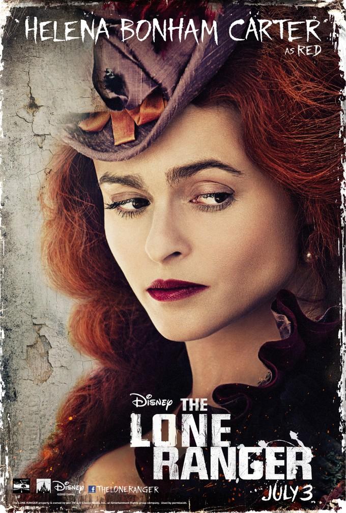 Helena Bonham Carter - Red