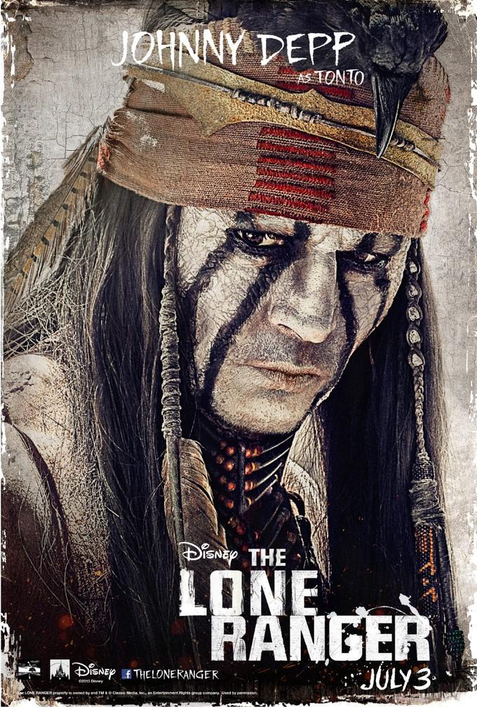 Johnny Depp - Tonto