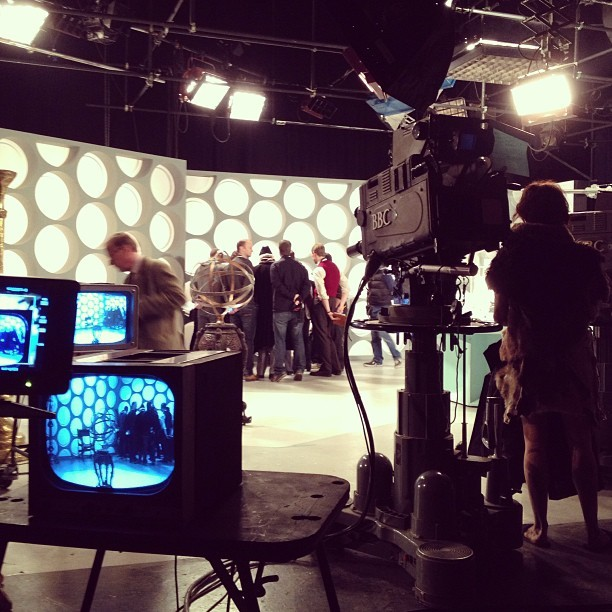 Adventure in Time and Space BTS