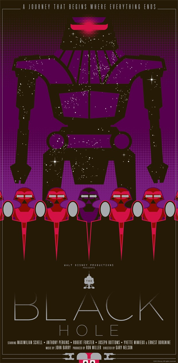 Black Hole poster by Mark Daniels