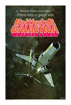 GALACTICA poster art