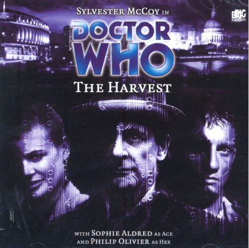 DOCTOR WHO: THe Harvest Big Finish audio cover