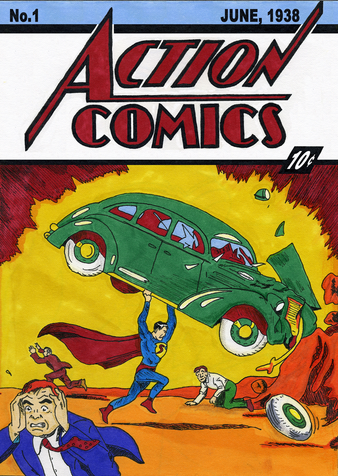 Image result for action comic no 1
