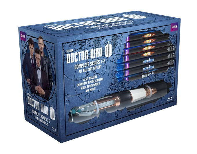 Upcoming DOCTOR WHO Blu-ray megaset
