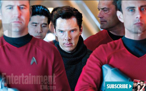 Benedict Cumberbatch as 'John Harrison' in  STAR TREK INTO DARKNESS