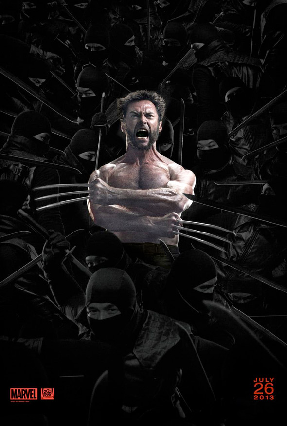 THE WOLVERINE Domestic One Sheet #1