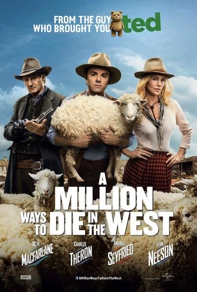 Million Ways to Die in the West Poster