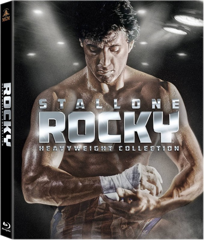 ROCKY: HEAVYWEIGHT COLLECTION package art