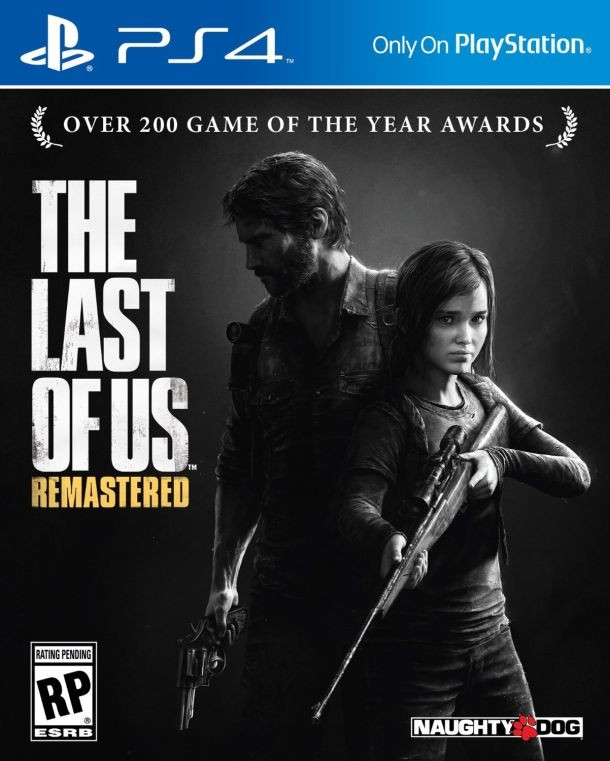 THE LAST OF US PS4 cover