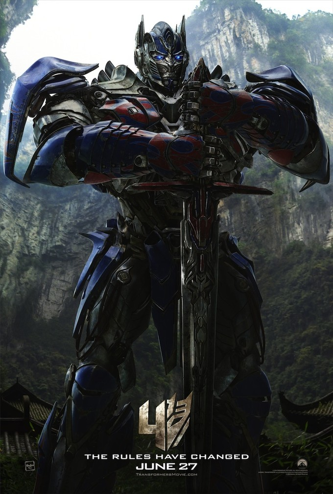 TRANSFORMERS: AGE OF EXTINCTION Optimus Prime poster