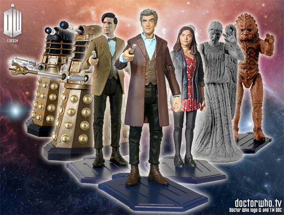 DOCTOR WHO Character Options new figs