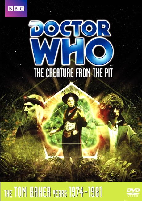 DOCTOR WHO: The Creature from the Pit DVD cover