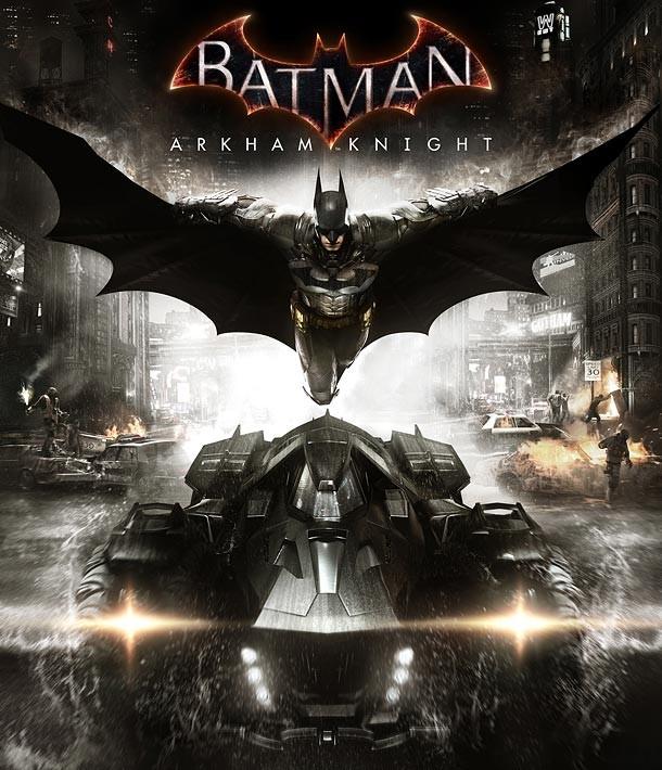BATMAN: ARKHAM KNIGHT game cover