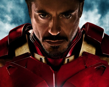 RDJ IRON MAN promo art