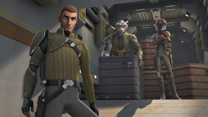 STAR WARS REBELS crew