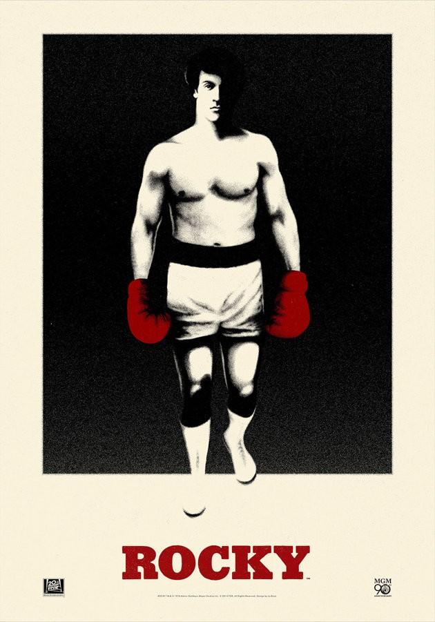 ROCKY poster art by La Boca