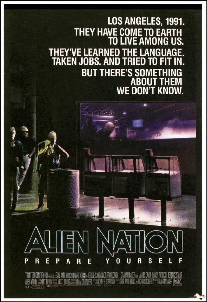 ALIEN NATION original poster