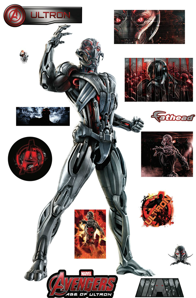 AVENGERS: AGE OF ULTRON wall graphics from Fathead