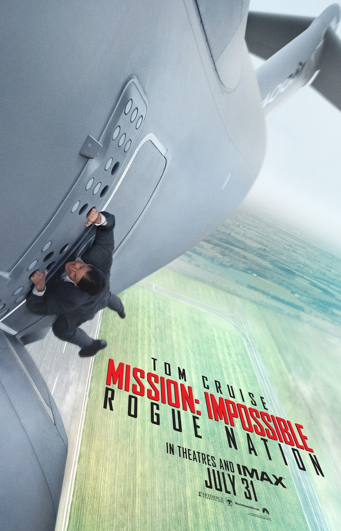 MISSION IMPOSSIBLE: ROGUE NATION poster