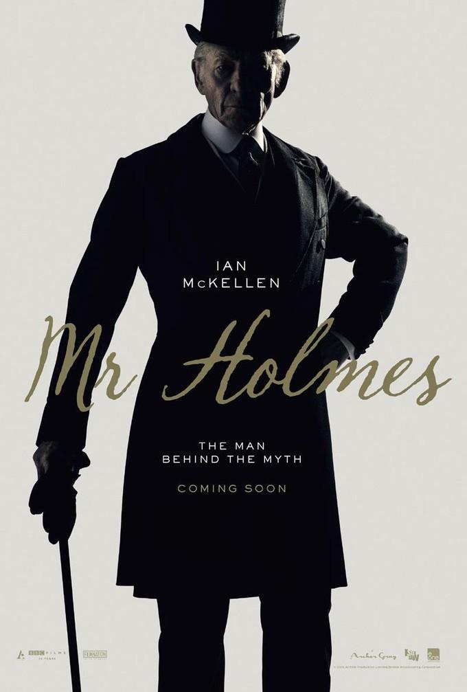 MR. HOLMES poster
