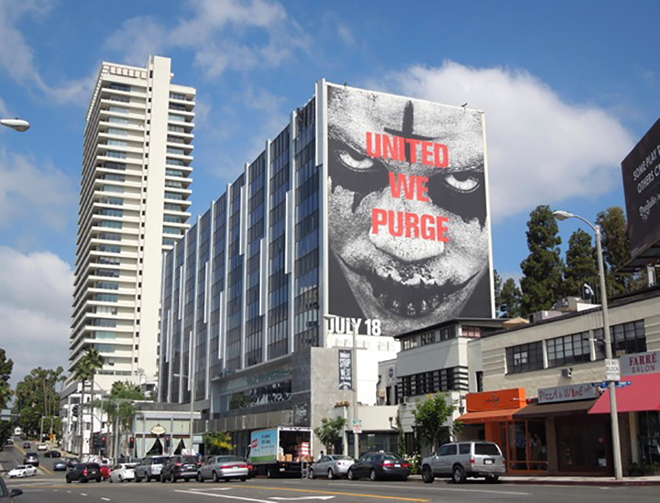 Billboard for THE PURGE: ANARCHY