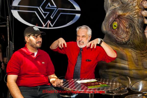 "Shannon on STAN WINSTON SCHOOL'S ""Monster Show"" with producer/director Sultan Saeed Al Darmaki."