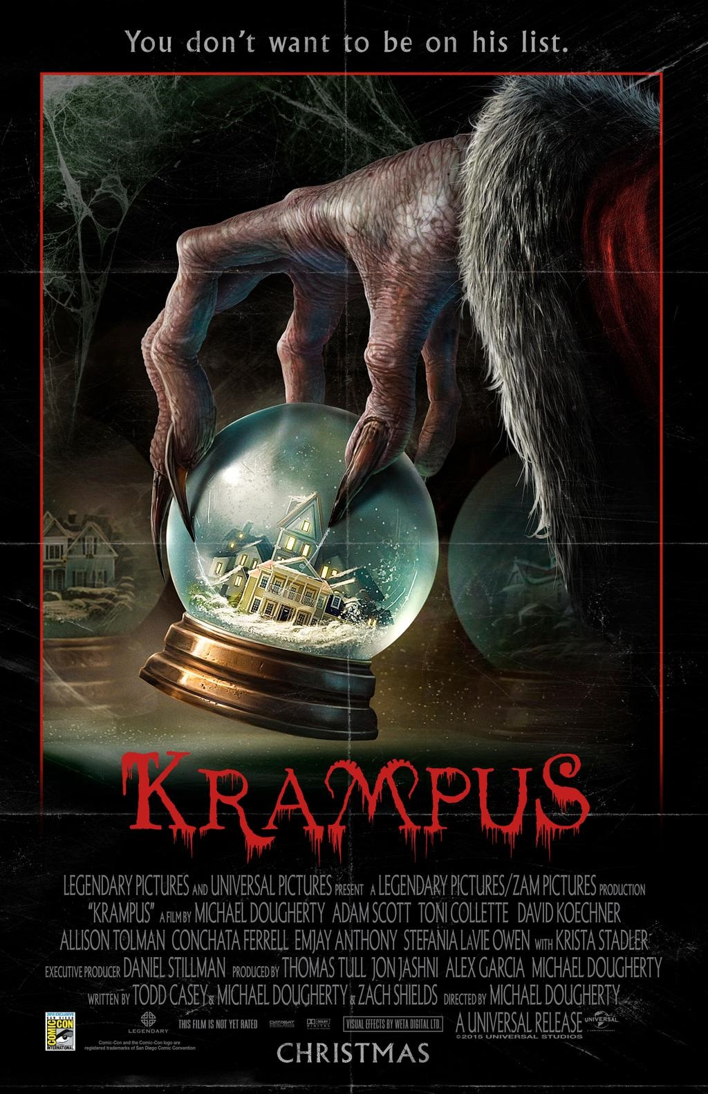 SDCC \'15: The Poster For KRAMPUS!