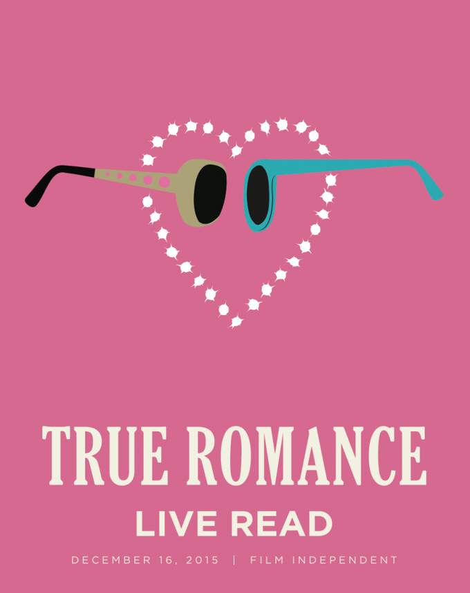 871719906eb8 The TRUE ROMANCE live-read in L.A. on Wednesday was