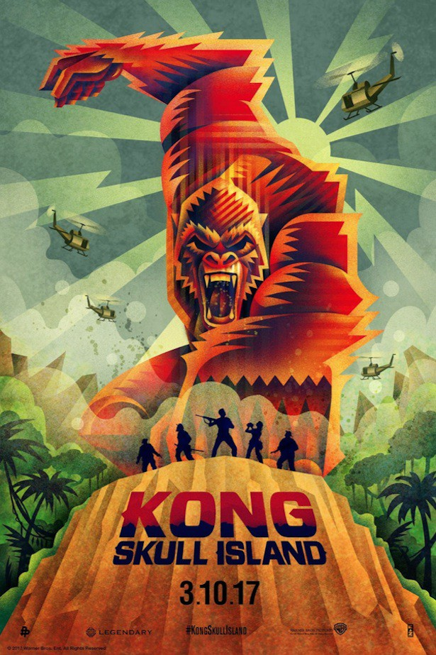 Kong Skull Island 3d Review