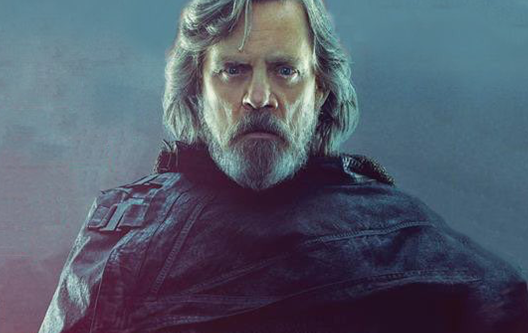 Staggeringly Cool Shot Of Mark Hamill From The Last Jedi