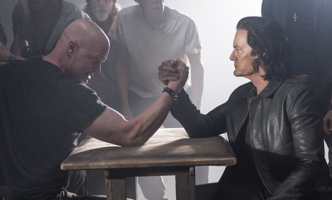 Image result for twin peaks arm wrestling