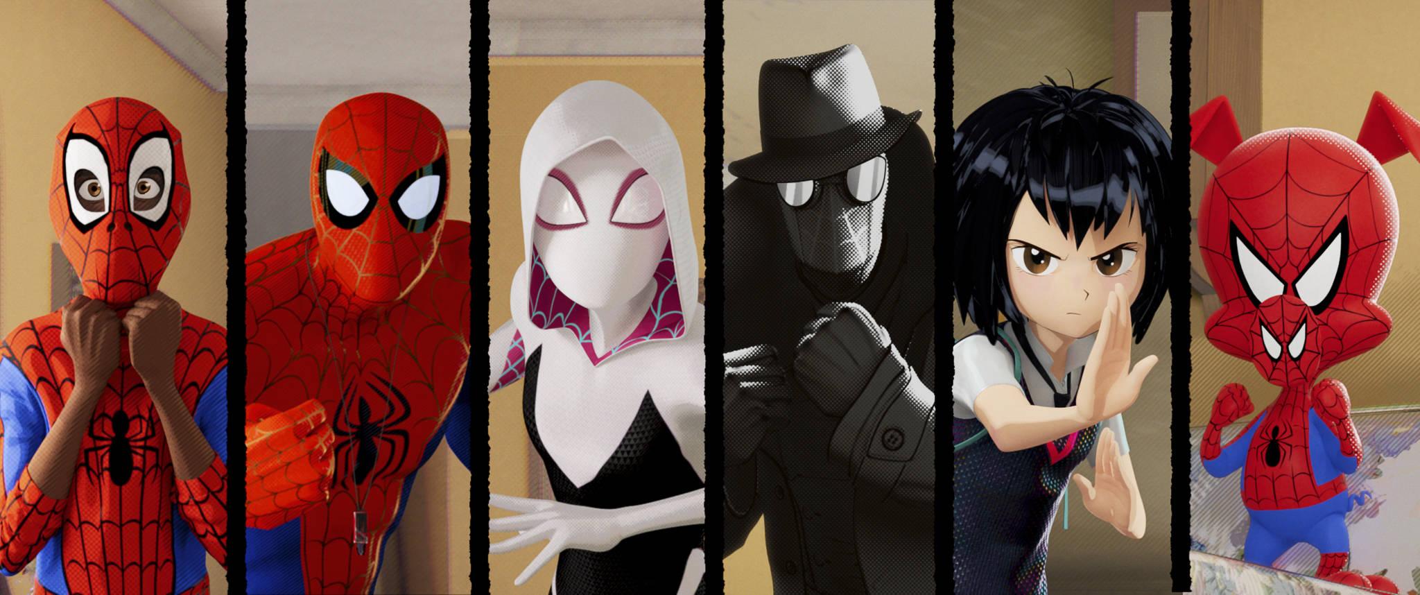 Big Eyes Loves Spider Man Into The Spider Verse
