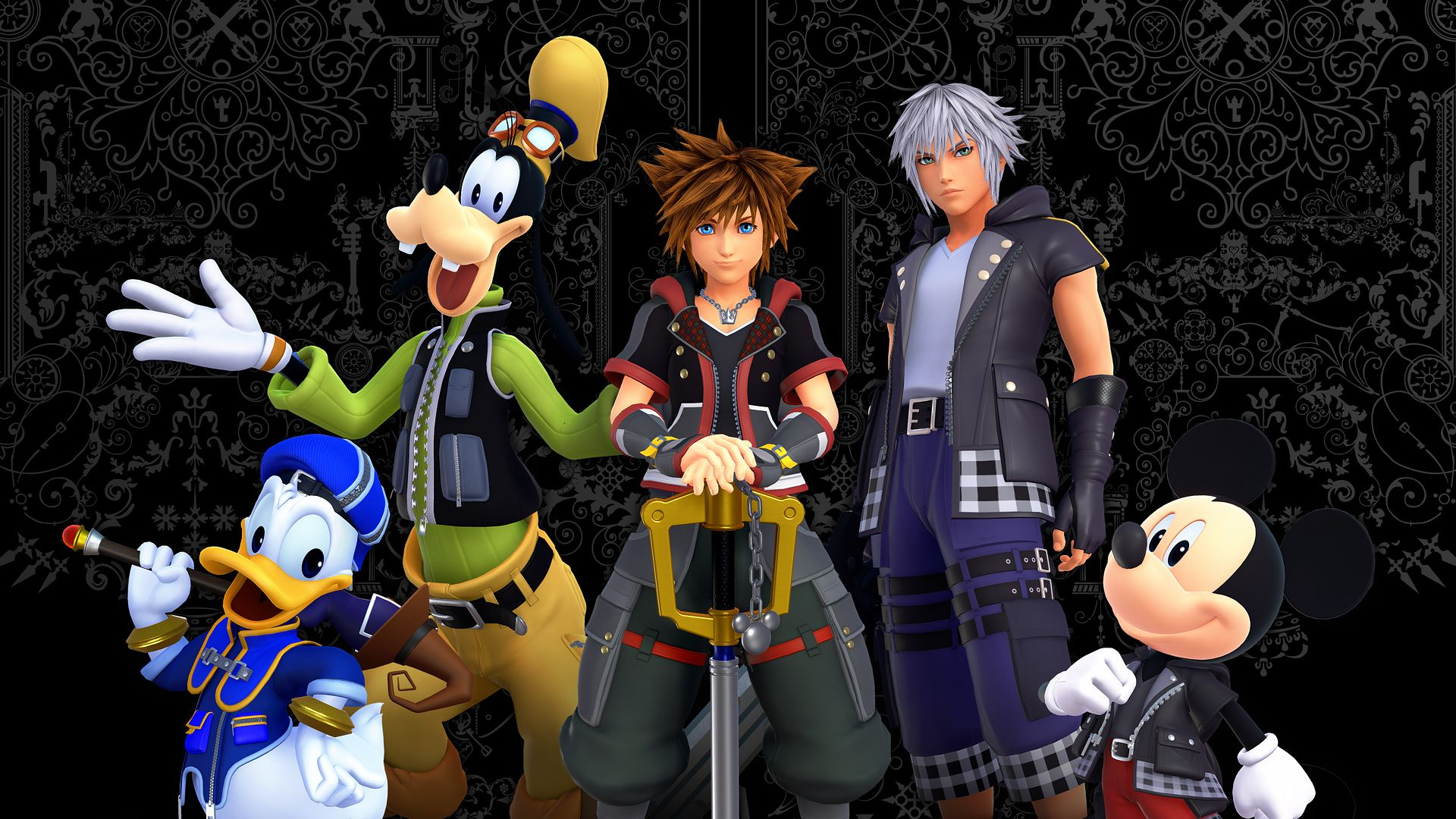 weeb alert kingdom hearts iii has a new opening movie. Black Bedroom Furniture Sets. Home Design Ideas