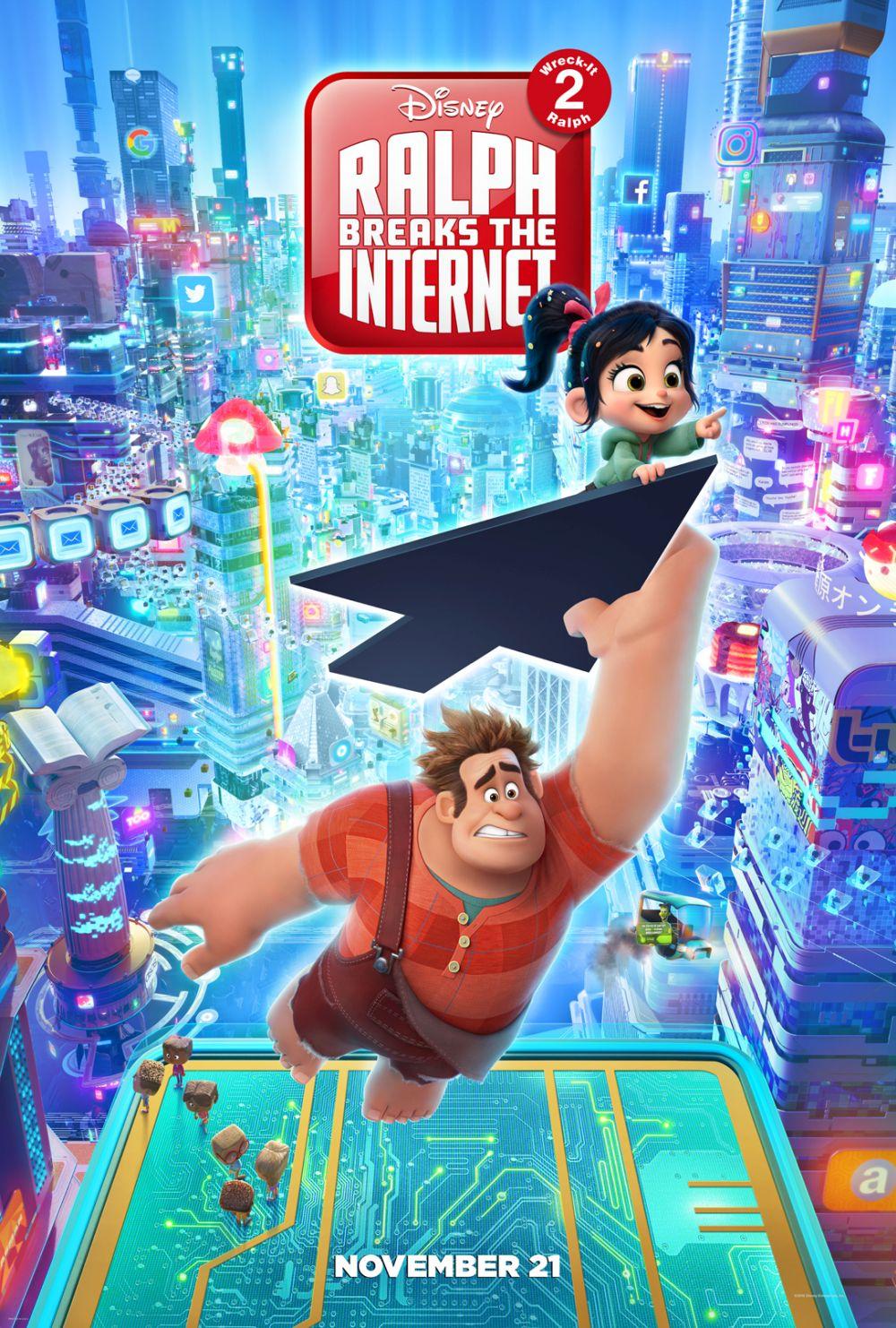 WiFi Ralph ganha trailer repleto de surpresas e participações. Confira!
