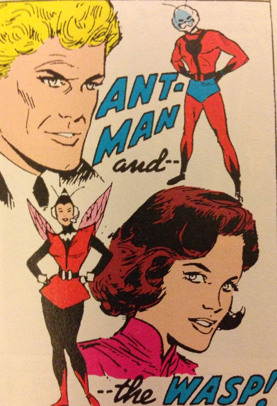 Image result for ant man and wasp comics